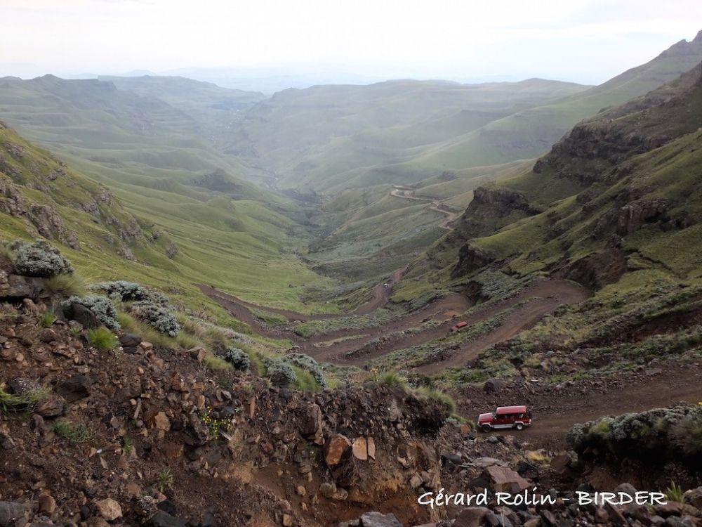 Route du Sani Pass Afrique du Sud