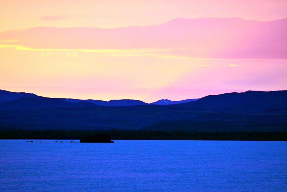 Soleil de minuit Islande