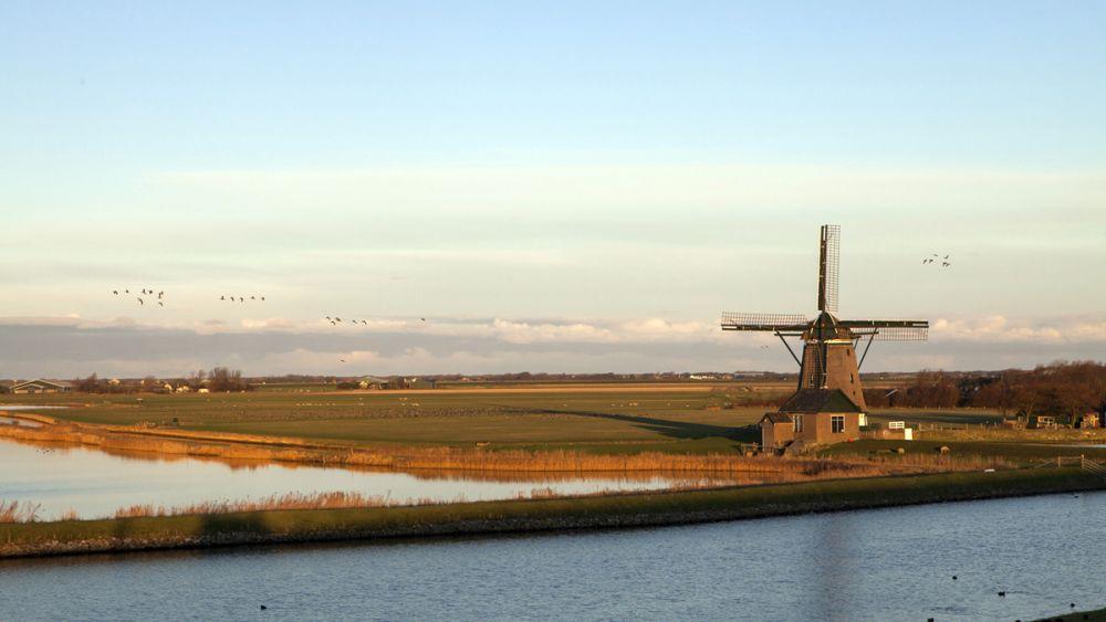Moulin Krassekeet île Texel Pays-Bas