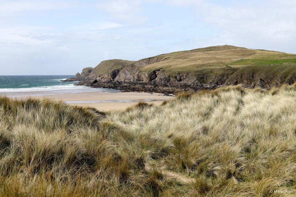 Paysage plage Highlands Ecosse