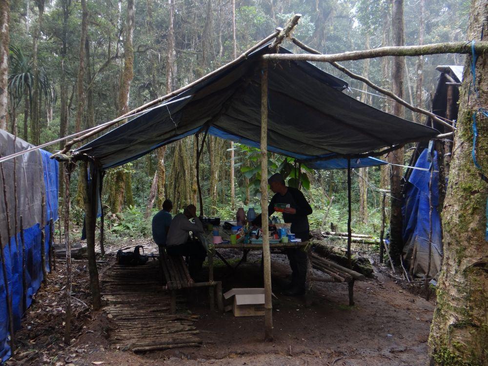 Campement dans les monts Arfak © Mehd Halaouate