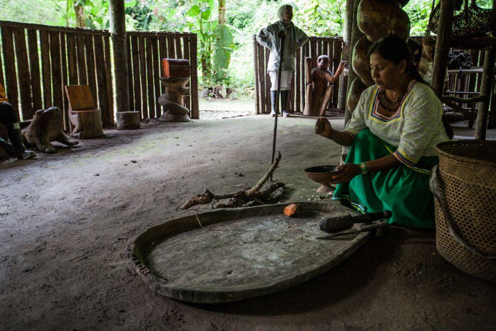 Immersion chez les familles Kichwa © Manatee Amazon Explorer