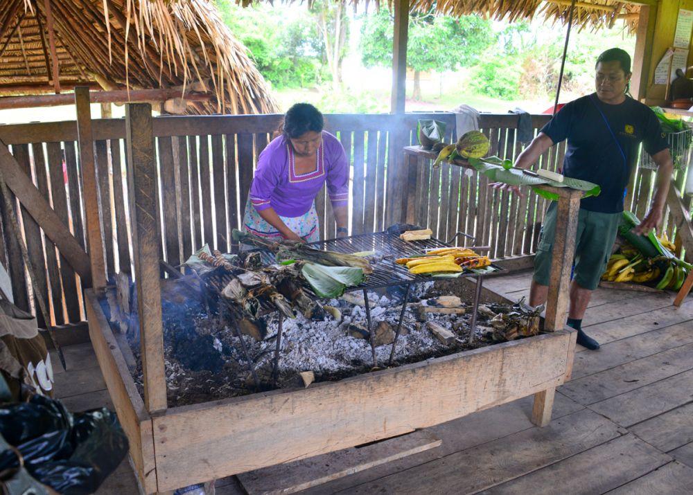 Barbecue Amazonien © Manatee Explorer