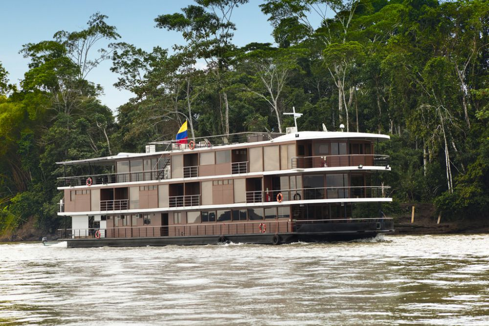 Bateau Manatee © Manatee Amazon Explorer