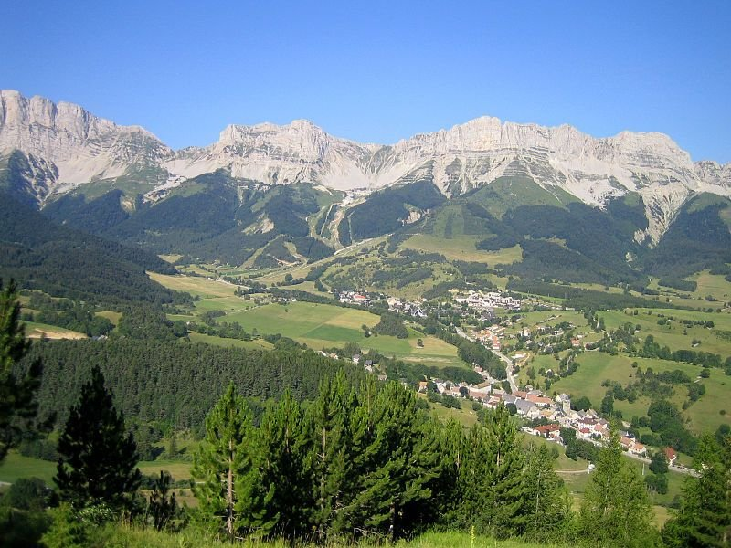 Massif du Vercors - Markus3 - Wikimedia Commons