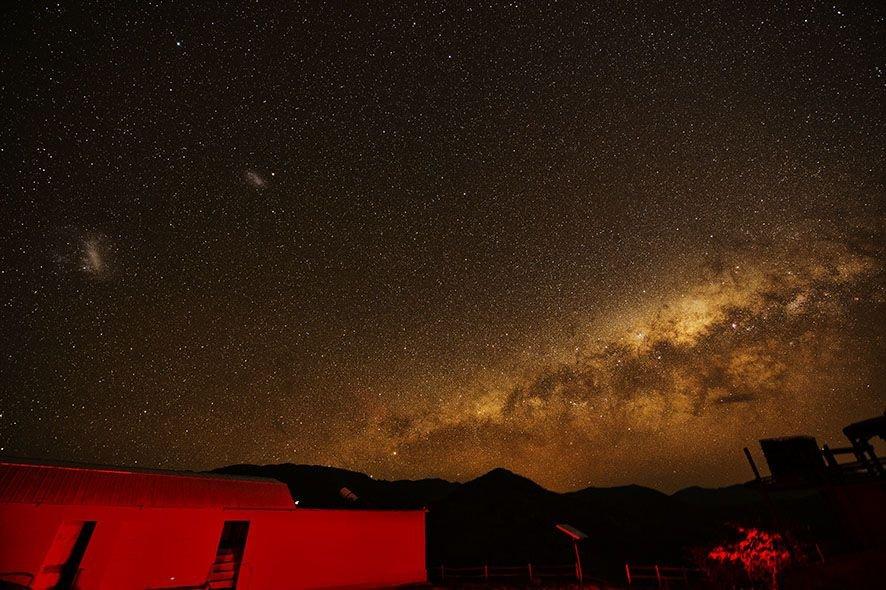 Le site astronomique El Pangue au Chili © Vincent Rahier