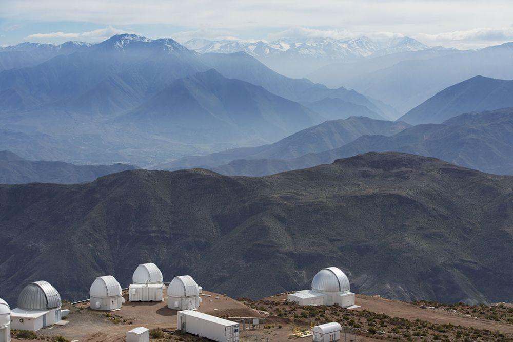 L'observatoire du Cerro Tololo au Chili © Vincent Rahier
