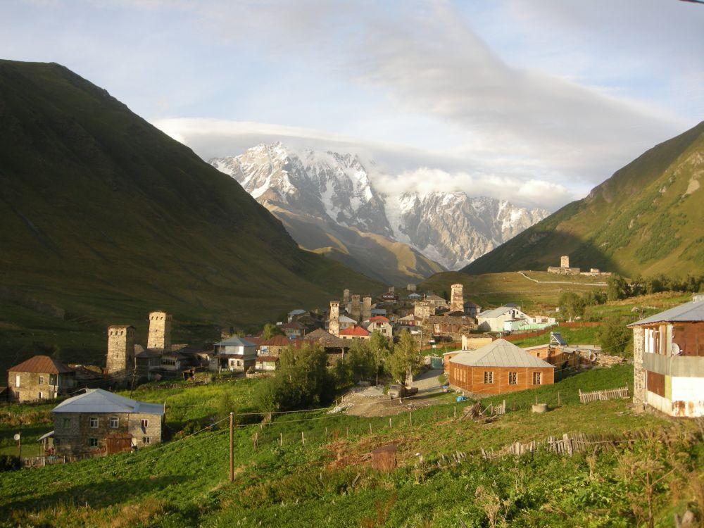 Village d'Ushguli ©Yves Dubois