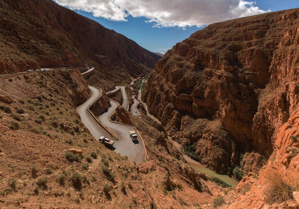 La Vallée du Dadès au Maroc © Patrick Lecureuil