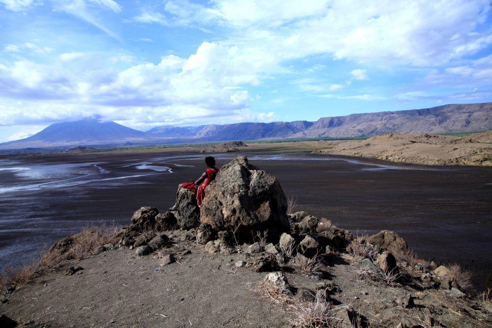 Jeune Maasaï - Lac Natron