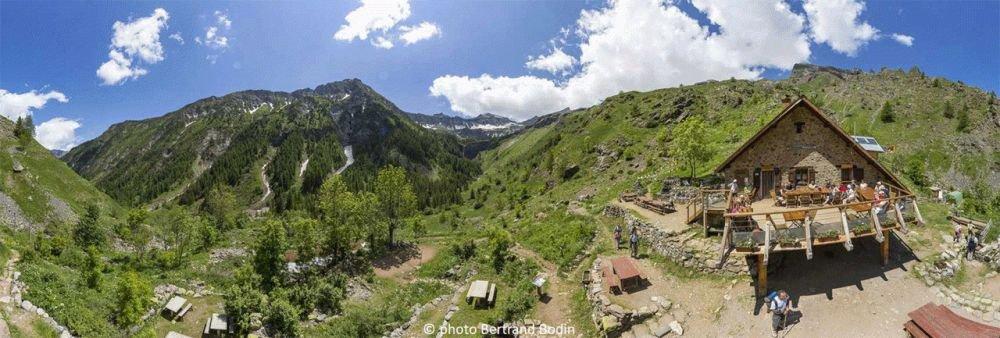 Refuge du Tourond, vallée de Champoléon, Hautes-Alpes