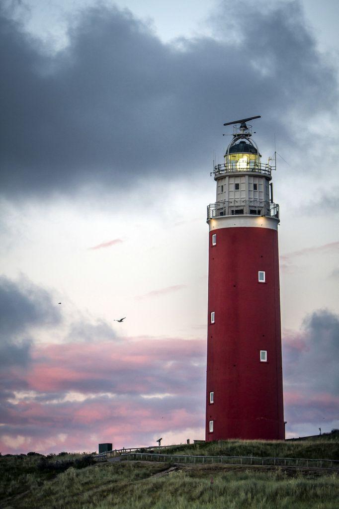 Phare d'Eierland île Texel Pays-Bas