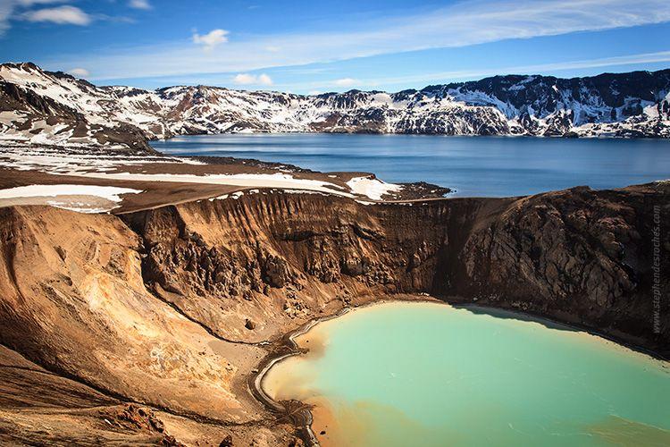 paysage volcanique en Islande